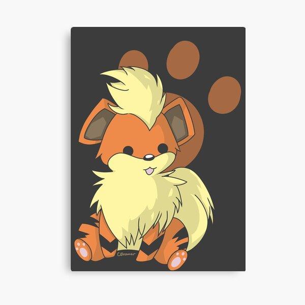 #058 - The Puppy Pokemon! Canvas Print