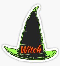 Witch's Hat Sticker