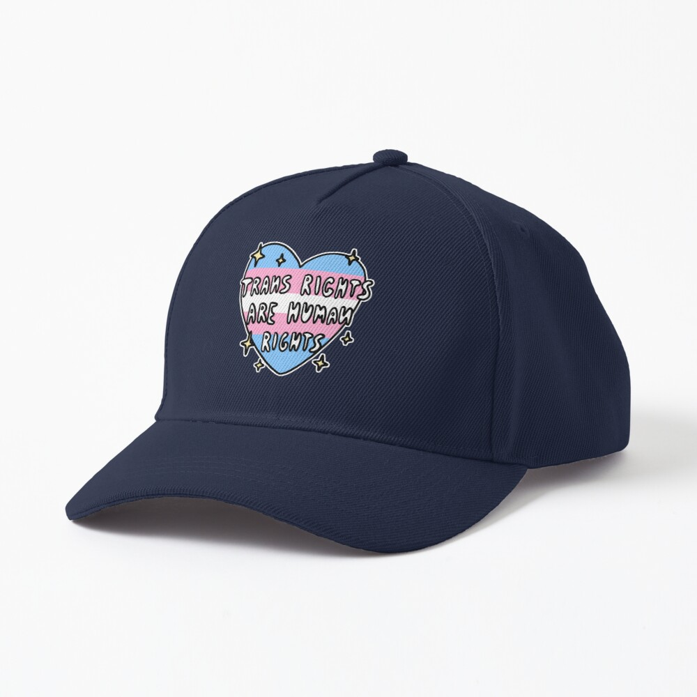 trans rights are human rights Cap