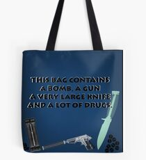 This Bag Contains....  Tote Bag