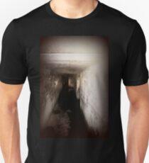 Battery Mishler corridor into the darkness Unisex T-Shirt