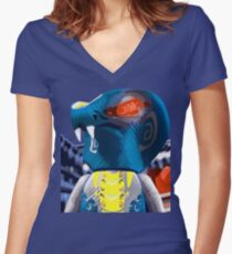 Ninjago Scales Women's Fitted V-Neck T-Shirt