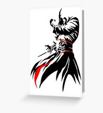 Assassins Creed The Red Greeting Card
