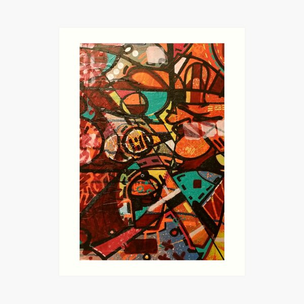 one love. Art Print