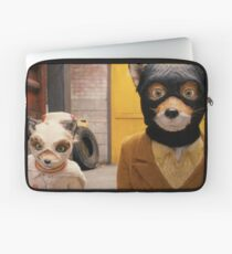 Fantastic Mr. Fox - Wes Anderson Film - Kristofferson Silverfox Laptop Sleeve