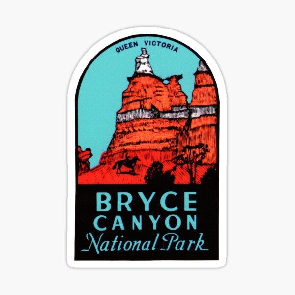 Bryce Canyon National Park Utah Vintage Travel Decal Sticker
