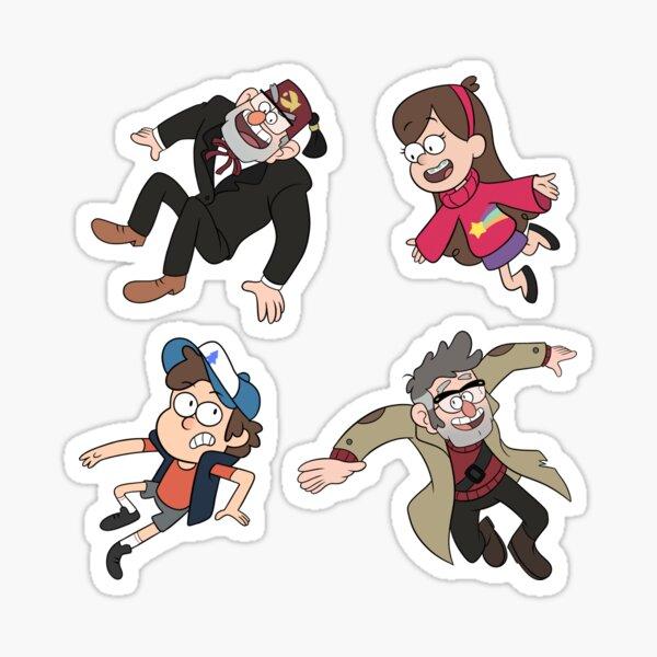 Gravity Falls Pattern Sticker