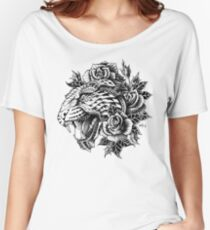 Ornate Leopard Women's Relaxed Fit T-Shirt