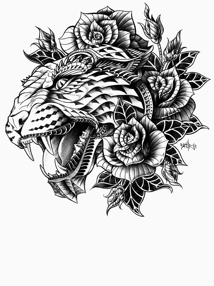 Ornate Leopard | Unisex T-Shirt