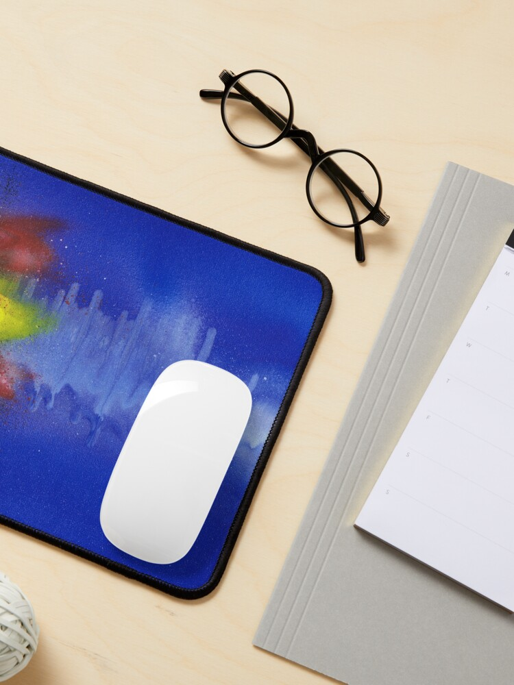 Alternate view of Sound Wave Flag Mouse Pad