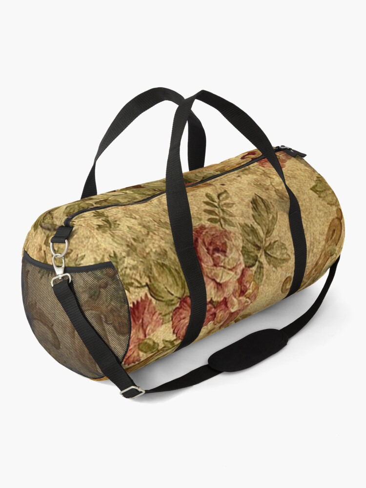 Alternate view of Vintage,tapestry,floral,elegant,victorian,rustic,grunge,elegant,chic Duffle Bag