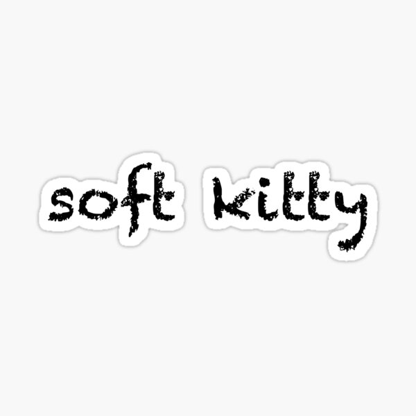Doux chaton Sticker