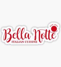 Bella Notte Sticker