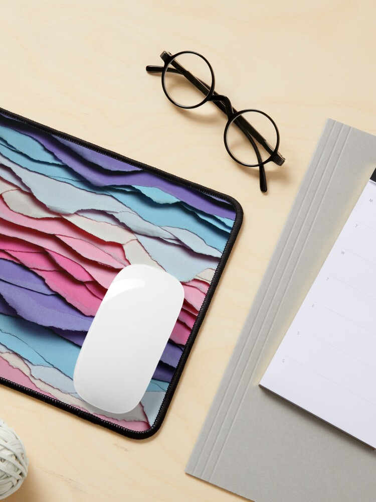 Alternate view of colour waves I Mouse Pad