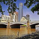 19th Century Bridge to the 21st Century Southbank by TonyCrehan