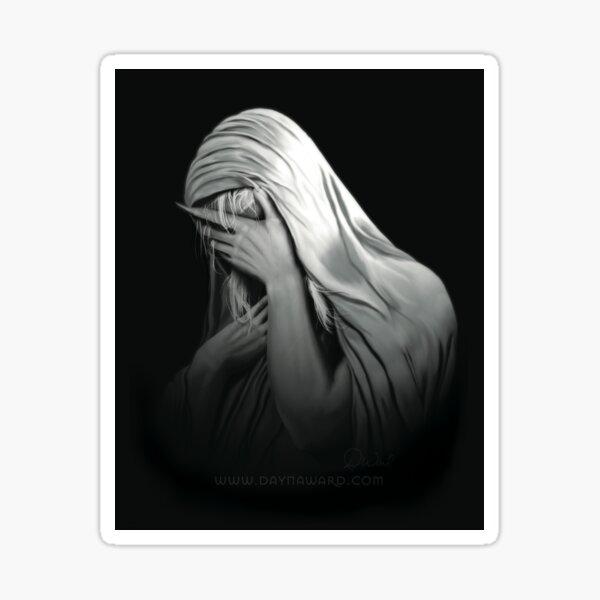 Weeping Vampire (Stickers & Magnets) | Vampire The Begotten Sticker