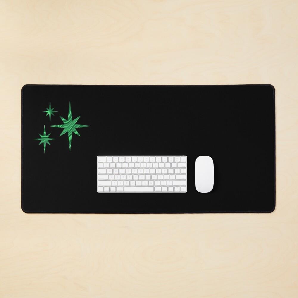 Malachite Stars Mouse Pad