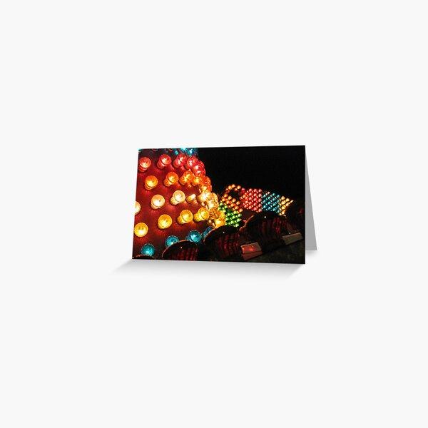 Bright Lights Greeting Card