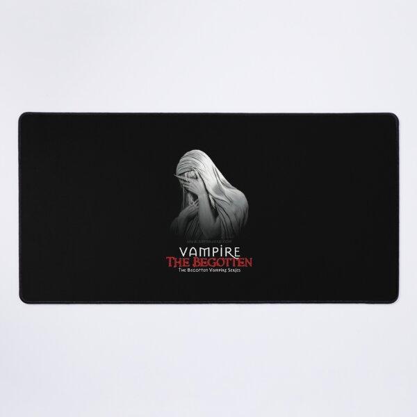 Weeping Vampire with Title | Vampire The Begotten Desk Mat