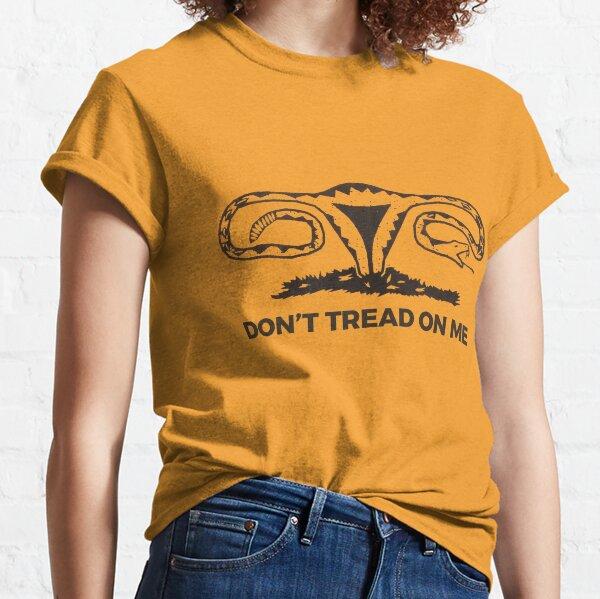 dont tread on me uterus Classic T-Shirt
