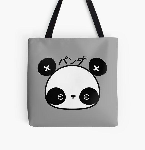 Panda by Indigo All Over Print Tote Bag