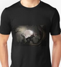 Creepy Haunted cemetery T-Shirt