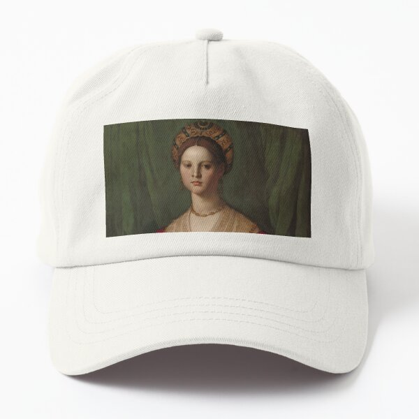 A Young Woman and Her Little Boy Oil Painting by Agnolo Bronzino Dad Hat