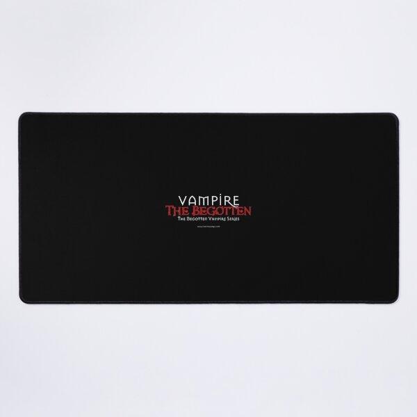 Vampire The Begotten Title | White & Red Desk Mat