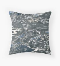 Water Camouflage  Throw Pillow