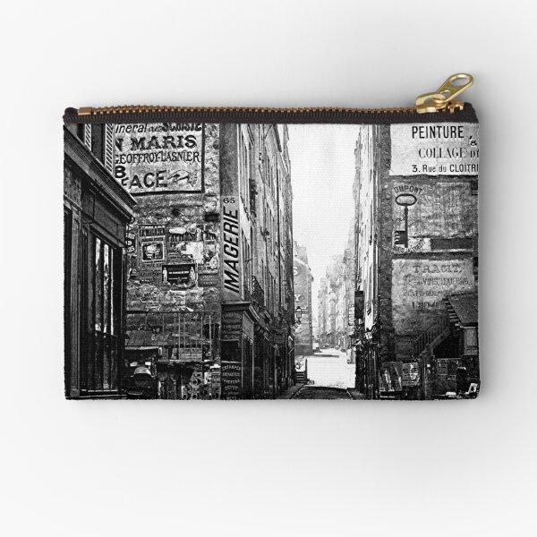 Rue Saint-Jacques circa 1864-1867 Zipper Pouch
