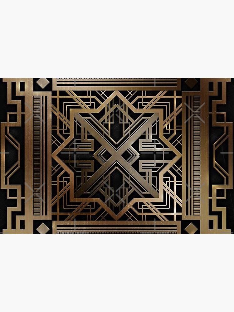 Art deco,gold,black,vintage,chic,elegant,1920 era,The Great Gatsby,modern,trendy,decorative by love999