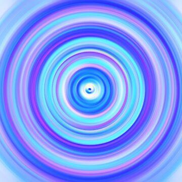Blue Gem Swirl by Dr-Pen