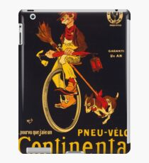 Vintage poster - Continental Bicycles iPad Case/Skin