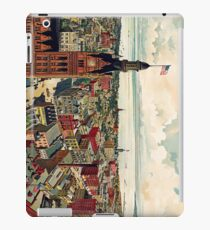 Vintage Pictorial Map of Milwaukee WI (1898) iPad Case/Skin