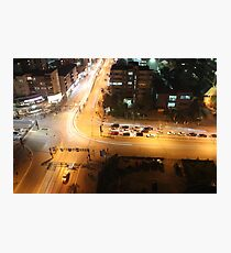 Aerial Intersection Photographic Print