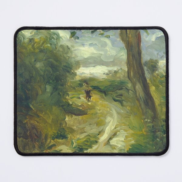 Landscape Between Storms Oil Painting by Auguste Renoir Mouse Pad