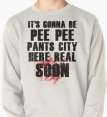 Pee Pee Pants City Pullover Sweatshirt