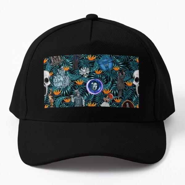 Haunted Tiki Mansion Baseball Cap
