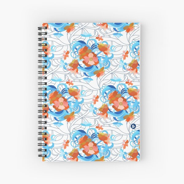 Bloom (Light) Spiral Notebook
