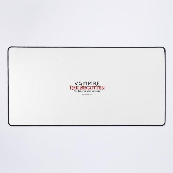 Vampire The Begotten Title | Black & Red Desk Mat
