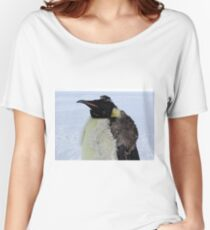 Molting Emperor Penguin Women's Relaxed Fit T-Shirt