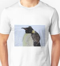 Molting Emperor Penguin Unisex T-Shirt