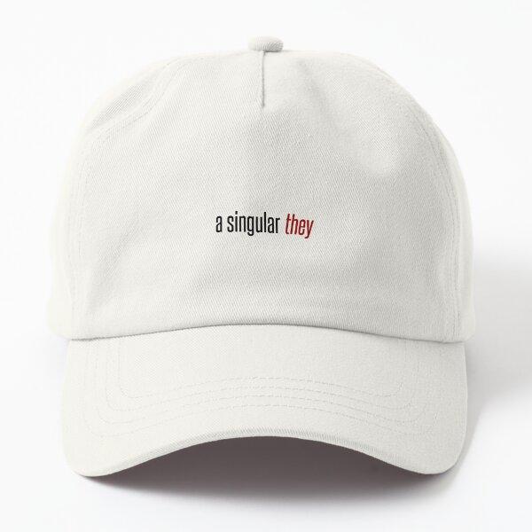 a singular they Dad Hat
