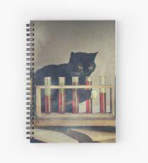 Cuaderno de espiral El gato de la bruja.