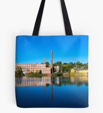 New England town... Tote Bag