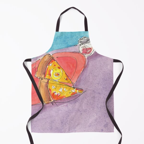 Sizzling Slice of Pizza Pie! Apron
