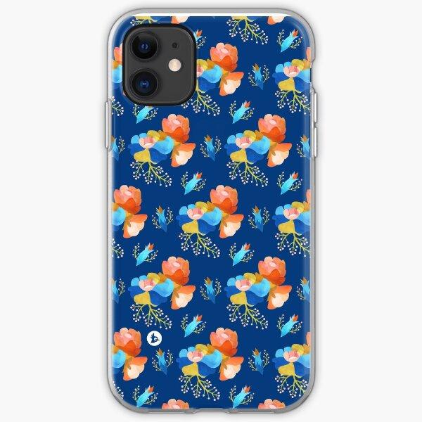 Bubbly (dark) iPhone Soft Case