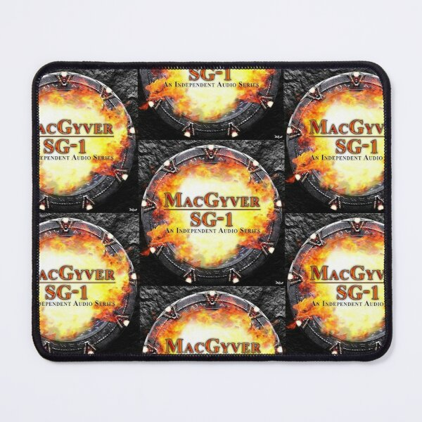 MacGyver/SG-1 Audio Series Logo Mouse Pad