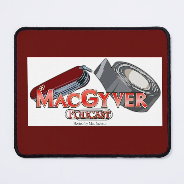 The MacGyver Podcast Logo Mouse Pad