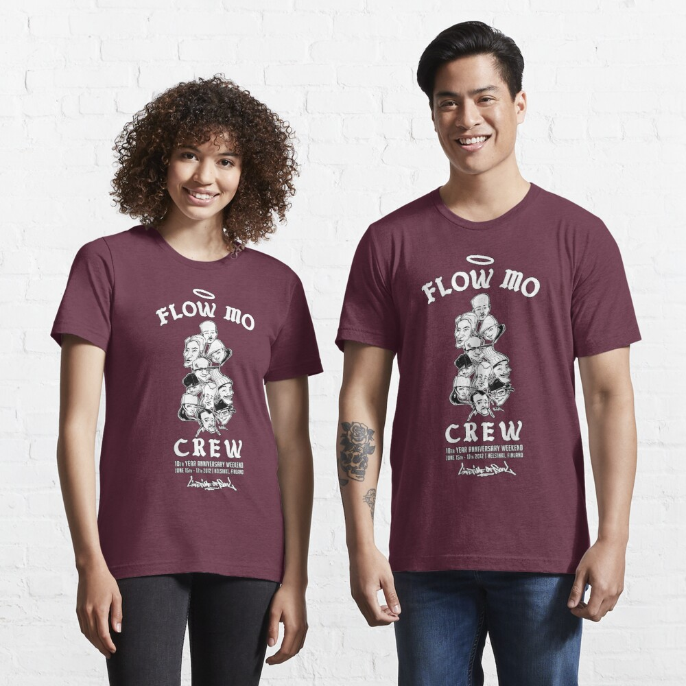 "Flow Mo 10th Year Anniversary ""CREW"" Shirt Essential T-Shirt"